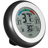 DANIU Multifunktionales Digitalthermometer Hygrometer Temperatur-Feuchtigkeitsmessgerät_