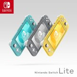 Nintendo Switch Lite Console - yellow /turkis / grau D/F/I_