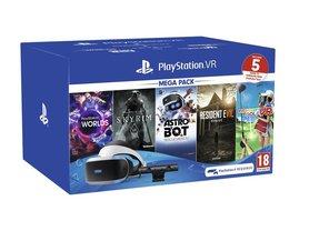 Sony VR-Headset PlayStation VR Mega Pack (inkl. 5 Spiele Voucher)