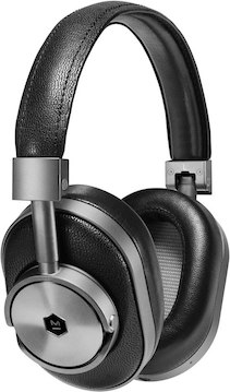 Master & Dynamic MW60 Over-Ear, Gunmetal / Black Leather