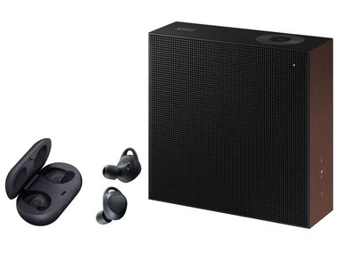 Samsung Bluetooth Speaker VL350 inkl. IconX Wireless In-Ear