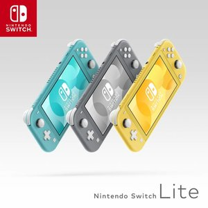 Nintendo Switch Lite Console - yellow /turkis / grau D/F/I