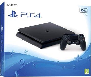 Sony Console PS4 Slim 500GB Schwarz