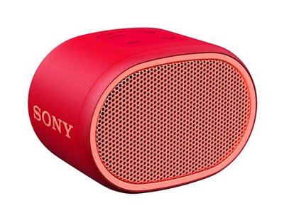 Sony SRS-XB01 Extra Bass  Bluetooth Rot