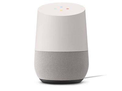 Google Smartspeaker Google Home Weiss
