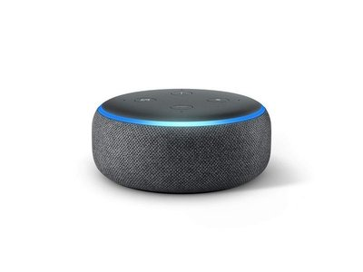 Amazon Smartspeaker Echo Dot (3. Gen.) Anthrazit