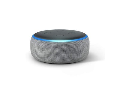Amazon Smartspeaker Echo Dot (3. Gen.) Hellgrau